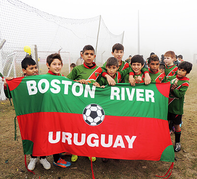 Fútbol infantil de Boston River